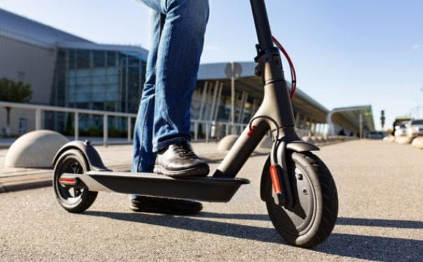 e-scooter trial begins